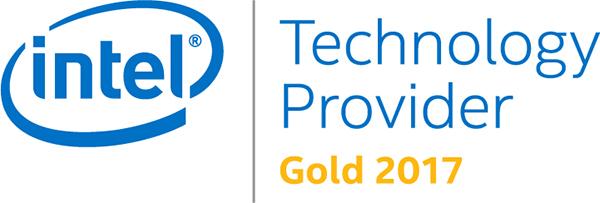 Intel Gold 2017 Badge
