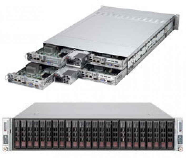supermicro superserver sys 2027tr h70rf 2u twin^2 dp 4x6sff lsi 2008
