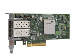 Brocade 1860 Dual Port PCIe Gen2 10GbE CNA SR Optics