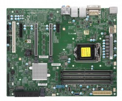 Supermicro MBD-X11SCA, Single SKT, Intel C246 Chipset, SATA, 2xGbE, M.2