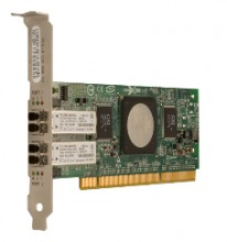Qlogic HBA 4Gb/s Fibre Channell Dual Port PCI-Express Adapter (QLE2462-CK)