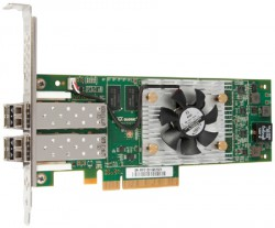 Qlogic HBA 16Gb/s Fibre Channell Dual Port PCI-Express Adapter (QLE2662-CK)