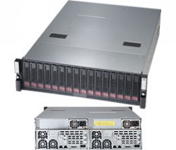 Supermicro SuperSBB Storage Server SSG-6037B-DE2R16L 3U DP 16xLFF CIB LSI 2308 RED PSU