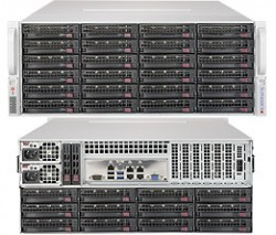 Supermicro SuperStorage Server SSG-6049P-E1CR36L 4U DP 36xLFF LSI 3008 RED PSU