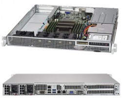 Supermicro SuperServer SYS-1018R-WR 1U UP 2xSFF 2xGbE RED PSU