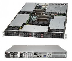 Supermicro SuperServer SYS-1027GR-TRF 1U DP 4xSFF 2xGbE RED PSU