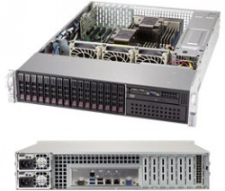 Supermicro SuperServer SYS-2029P-C1RT 2U DP 16xSFF LSI3108 2x10GbE RED PSU