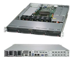 SuperServer SYS-5019C-WR 1U UP 4xLFF 2xGbE RED PSU (SALE-OUT)