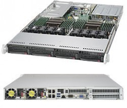Supermicro SuperServer SYS-6019U-TR4T 1U DP 4xLFF 4x10GbE RED PSU