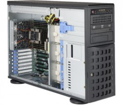 Supermicro SuperServer SYS-7049P-TRT Tower 4U DP 8xLFF RED PSU