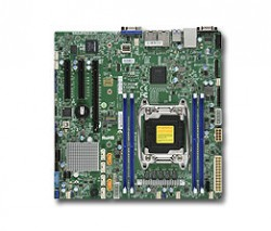 Supermicro MBD-X10SRM-F, Single SKT, Intel C612 Chipset, SATA, 2xGbE, IPMI, M.2