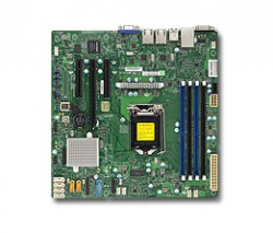 Supermicro MBD-X11SSL-F, Single SKT, Intel C232 Chipset, SATA, 2xGbE, IPMI