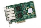 LSI 7404EP-LC SGL 4Gb/s Fibre Channel Quad Port PCI-Express Adapter (LSI00149)