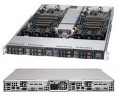 Supermicro SuperServer SYS-1027TR-TF 1U Twin DP 2x4SFF RED PSU