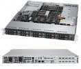 Supermicro SuperServer SYS-1028R-WTNRT 1U DP 8xSFF 2xNVMe 2x10GbE RED PSU