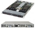 Supermicro SuperServer SYS-1028TR-T 1U Twin DP 2x4SFF FIX PSU