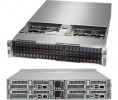 Supermicro SuperServer SYS-2028BT-HTR+ 2U BigTwin^2 DP 4x6SFF RED PSU