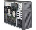 Supermicro SuperWorkstation SYS-7038A-I Mid-Tower DP 4xLFF FIX PSU