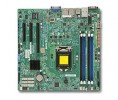 Supermicro MBD-X10SLM+-F, Single SKT, Intel C224 Chipset, SATA, 2xGbE, IPMI