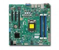 Supermicro MBD-X10SLL-F, Single SKT, Intel C222 Chipset, SATA, 2xGbE, IPMI