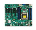 Supermicro MBD-X9SRL, Single SKT, Intel C602 Chipset, SATA, 2xGbE
