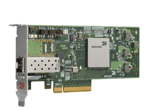 Brocade HBA 16Gb/s Fibre Channell Single Port PCI-Express Adapter (BR-1860-1F00)