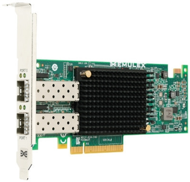 Emulex OCe14102B-UX OneConnect 10Gb CNA Dual-port with Direct Attach Copper (DAC) Connectivity