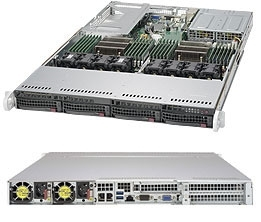Supermicro SuperServer SYS-6019U-TRT 1U DP 4xLFF 2x10GbE RED PSU